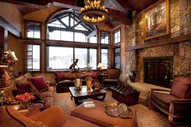 Modern Rustic Living Room Traditional