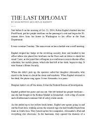 bureau fond d ran the last diplomat pdf espionage federal bureau of investigation