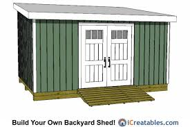12x16 Gambrel Shed Kits by 12x16 Lean To Shed Plans 12x16 Shed Plans Pinterest