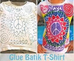 Glue Batik Tshirt Kids1