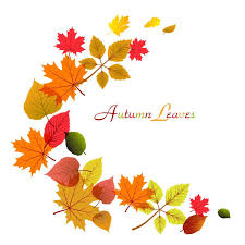 clip art of fall leaves