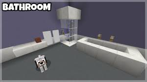Minecraft Pocket Edition Bathroom Ideas by How To Make A Bathroom In Minecraft Pe Win10 Xbox Youtube