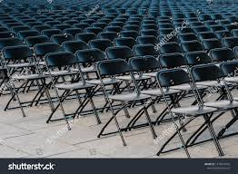 Rows Folding Chairs Empty Seats On Stock Photo (Edit Now ... White Chair Juves Party Events Wooden Folding Chairs Event Fniture And Celebration Stock Amazoncom 5 Commercial White Plastic Folding Chairs Details About 5pack Wedding Event Quality Stackable Chair Can Look Elegant For My Boda Hercules Series 880 Lb Capacity Heavy Duty With Builtin Gaing Bracke Mayline 2200fc Pack Of 8 Banquet Seat Premium Foldaway Utility Sliverylake Foldable Steel Rows Image Photo Free Trial Bigstock