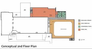 This Conceptual Floor Plan Shows The Layout Of Proposed Second Upgrades To Olympic