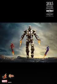 100 Hk Mark 24 Hot Toys Iron Man 3 Tank XXIV 16th Scale Collectible Figure