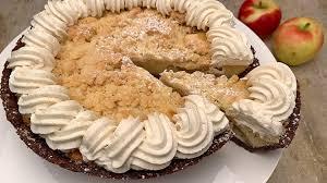 schoko apfel tarte