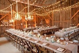 Barn Wedding Venue Reception