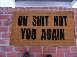 Humorous Safety Door Mats Mat