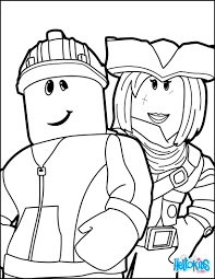 Roblox Coloring Pages Friends In Hellokids Com Endearing Enchanting And