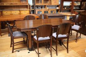 Dining Table 8792 Price AUD 98000 1940s Maple Veneer And Matching 6 Chairs Excellent Condition Re Polished Classic Collectors Piece