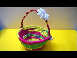 Best Out Of Waste Rope Basket