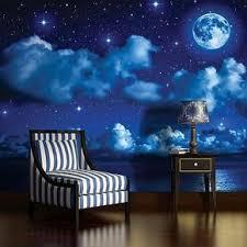 fototapete tapete schlafzimmer wandbild wolken himmel
