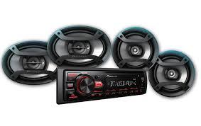100 Truck Speakers Pioneer MXT2969BT Bluetooth Digital Media Car Receiver W 4