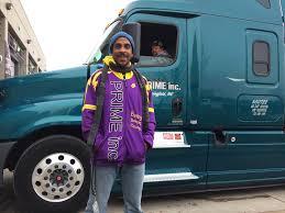 100 Prime Inc Trucking Phone Number AthleteTurnedTrucker Works To Improve Truckers Health WPRL