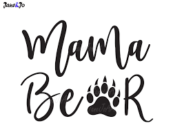 1000x800 Mama Bear SVGMama Mom Saying SvgVectorMama Clipart