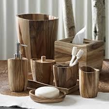 Kassatex Acacia Wood Bath Accessories