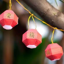 Chinese New Year Paper Lantern Printable Cutout