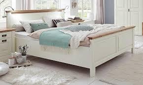 schlafzimmer komplett 5teilig kleiderschrank bett 180x200 truhe kiefer massiv creme