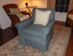 Wingback Chair Slipcover Linen by Pam Morris Sews Slipcovers