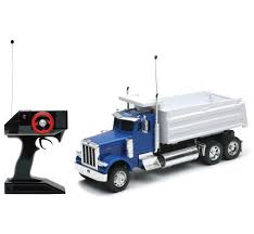1:32 Scale Radio Remote Controlled R/C Peterbilt 379 Dump Truck RC ...