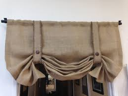 Valances Curtains For Living Room by Curtains Burlap Valance Curtains Burlap Window Valance Burlap