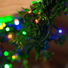 Amazoncom 100 LED Multicolored Christmas String Lights 30 Ft