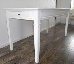 table de cuisine avec tiroir table de cuisine salle à manger peinte blanche anjoudeco