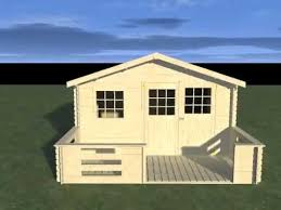 abri de jardin bois avec terrasse decor et jardin bricomarché