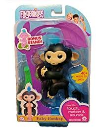 Amazon WowWee Fingerling Kingsley The Sloth Toys Games