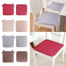 Dining Chair Cushion Seat Pads Removable Cover Patio Tie On ...