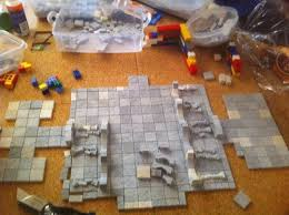 dungeon casting part 1 creating dungeons with hirst arts molds