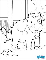 Coloriage Vache à Imprimer Pour Les Enfants Dessin Vache Normande
