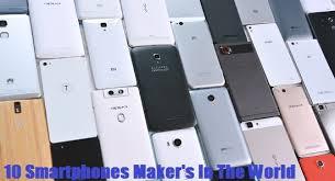 List Top 10 Smartphones Maker s In The World