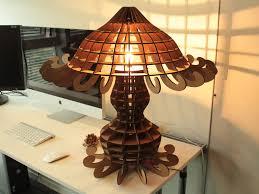 Laser Cut Lamp Shade by Mas 863 Portfolio Dan Sawada