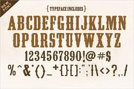 13 Cowboy Fonts