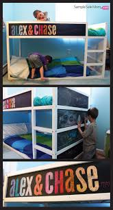 Kura Bed Instructions by Sample Sale Mom Blog Ikea Kura Bed Makeover With Chalkboard Paint