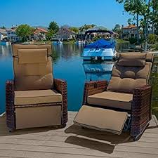Amazon Westwood Outdoor Glider Recliner Chairs set of 2