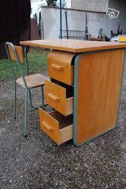 bureau d 馗olier ancien en bois 1 place bureau d enfant ecole ecolier ancien industriel ameublement tarn