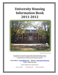 Eits Help Desk Hours by University Housing Info Book 2012 2013 By Housing Uga Issuu
