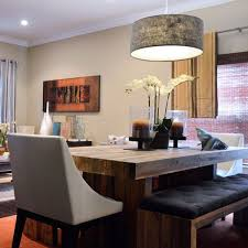 Best 20 Eclectic Dining Tables Ideas On Pinterest Stylish Room Table With Upholstered Bench