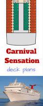 Carnival Conquest Deck Plans by Carnival Sensation Deck Plans Cruise Radio