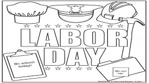 Labor Day Flag Printable Coloring Pages