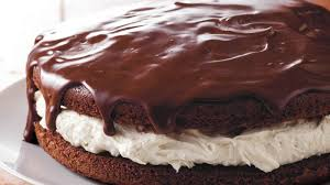 Giant Ganache Topped Whoopie Pie Recipe BettyCrocker