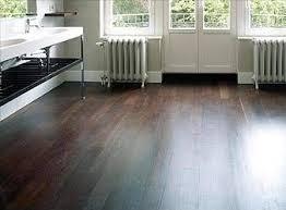 Dark Wood Floors For Elegant Look Luxurious