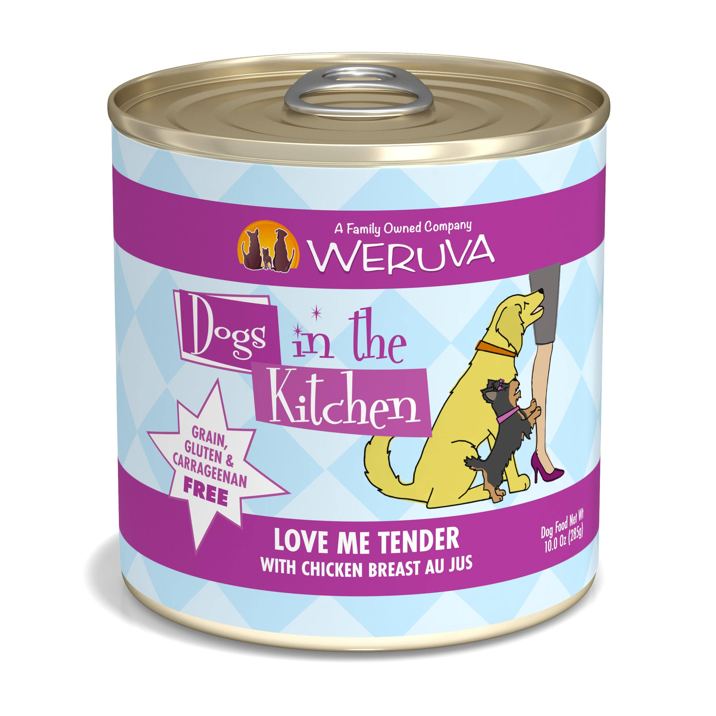 Weruva Dogs in The Kitchen Love Me Tender 10oz Canned Dog Food