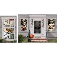 Halloween Scene Setters by Halloween Door Covers Halloween Wikii