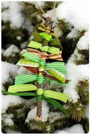 Rustic Christmas Tree Ornaments DIY