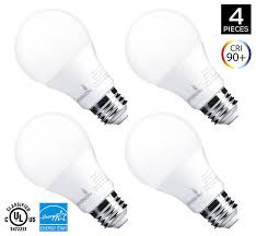 hyperikon a19 dimmable led light bulb 9w 60w equivalent energy