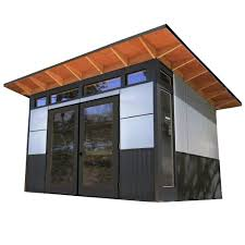 12 X 20 Modern Shed Plans by Studio Shed Telluride 12 Ft X 10 Ft Residential Quality Backyard
