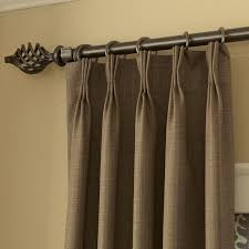 pinch pleated curtains for traverse rod curtains design gallery